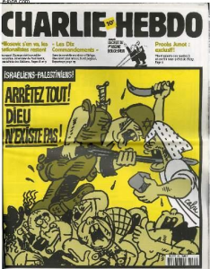 charlie hebdo israelo-palestinian