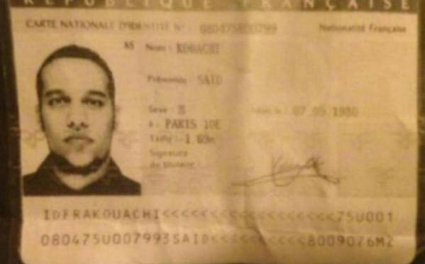 Je suis Charlie : Suspects identified, manhunt launched in Reims// Suspects identifiés, une chasse à l'homme a été lancée