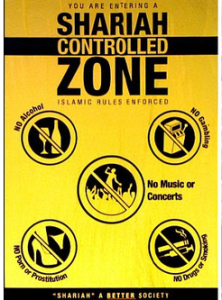 caption shariah controlled zone
