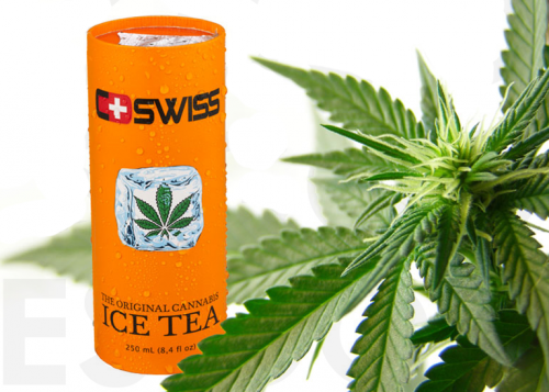 Cannabis Ice Tea Review : Strange Products in Europe