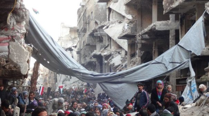 BREAKING: ISIS Beheading Palestinians Inside Recently Seized Yarmouk Refugee Camp in Damascus