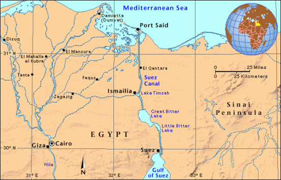 Egypt: New Suez Canal To Increase Revenues To $15 Billion By 2023 And Reduce Navigation Time From 22 to 11 Hours