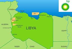 bp libya