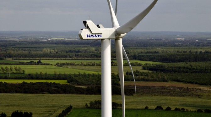 Denmark's wind farms generated 140% of the country's electricity needs yesterday