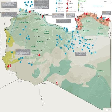 libyan oil fields