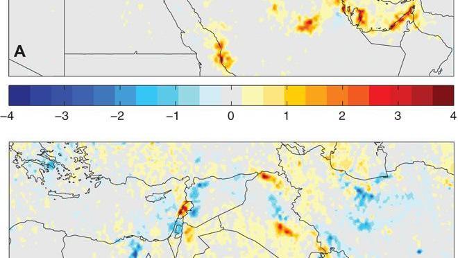 What price for a little fresh air in the middle east? Surprising study results //Au Moyen-Orient, la guerre aurait fait baisser la pollution de l'air