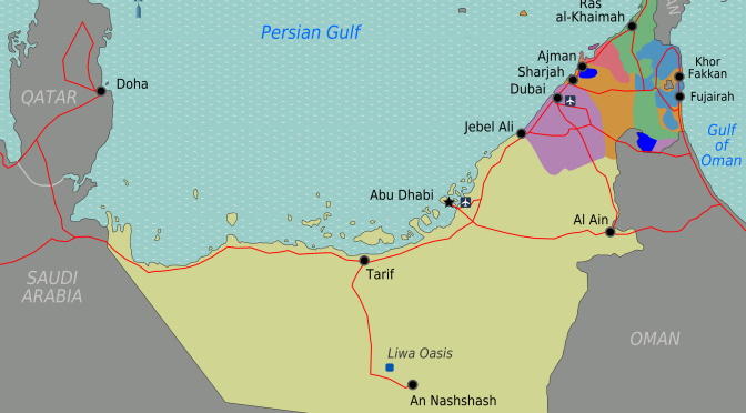 As Oil Declines, The UAE Is The Safest Bet In The Middle East
