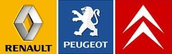logo french car industries