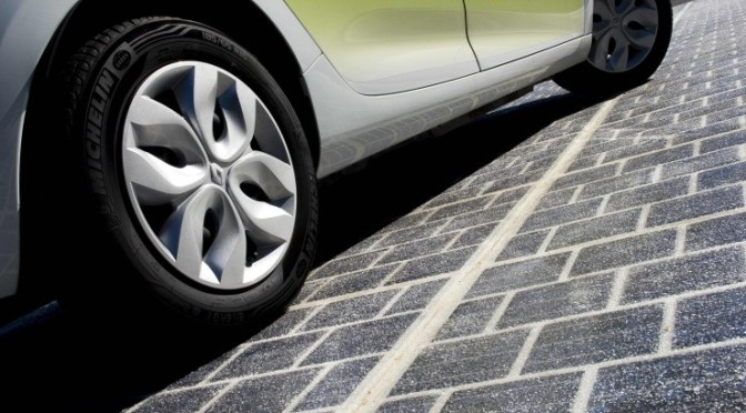 "Wattway, and its #original solar ""road"" idea for producing electricity"