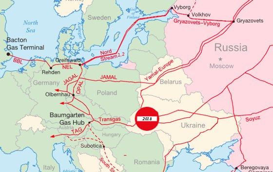 """Les 4 pays formant le Viségrad s'opposent sur la construction du """"Nord Stream 2"""""""