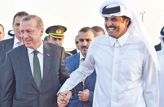 Construction d'une base militaire turque au Qatar