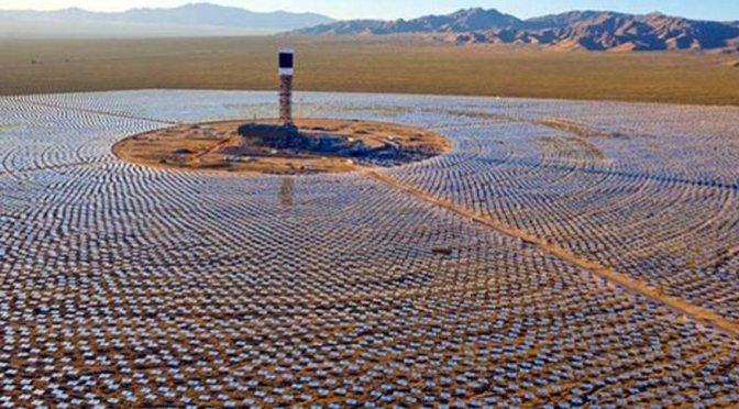 Morocco will soon have the biggest world's largest concentrated solar power plant//Le Maroc aura bientôt la plus grande centrale solaire au monde