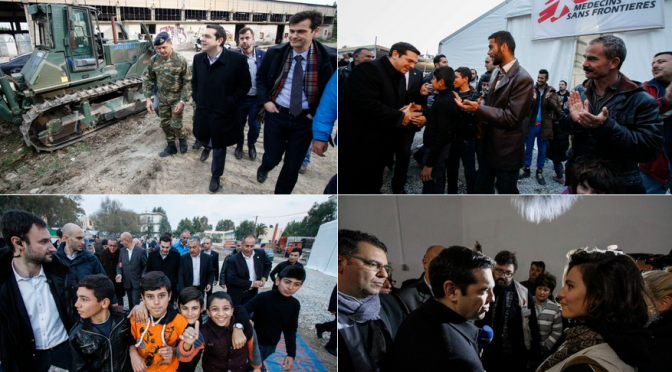 #Greece, #Grèce :Tsipras to demand EU live up to pledges and don't leave Greece to become a black box for refugees//Crise migratoire: Tsipras appelle l'Europe à agir