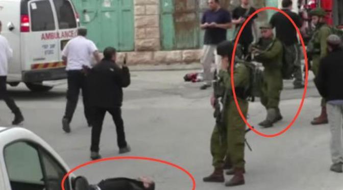 Crimes de guerre :Nous condamnons « l'apparente exécution » d'un Palestinien par un soldat israélien