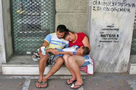 greece poverty