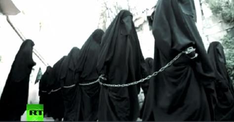 isis women slaves