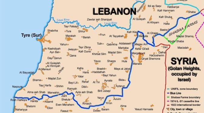 The relationship between Hezbollan/ Lebanon and Israel could degenerate again