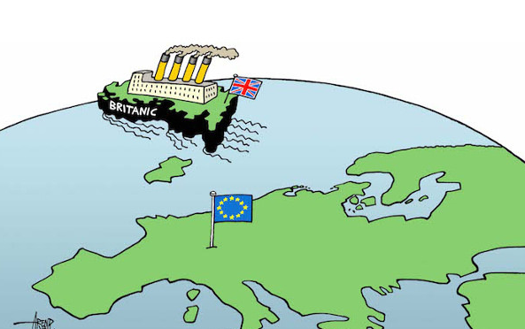 """France Tv: Julian Assange : """"Le Brexit ? Je suis pour ! L'Europe se portera mieux sans les Britanniques"""""""
