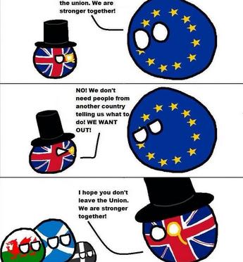 Brexit : l'Écosse et l'Irlande du Nord ne sont pas du même avis que les Anglais et les Gallois