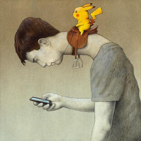 control pokemon GO Pawel Kuczynski