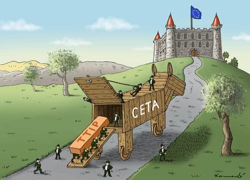 Pourquoi l'Europe n'a pas besoin du CETA