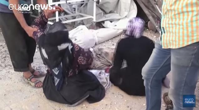 Quand les médias russes sont en train de regarder une autre guerre civile en Syrie
