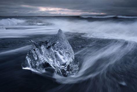 Castle,Spencer Cox (US) Jökulsárlón Beach, Iceland