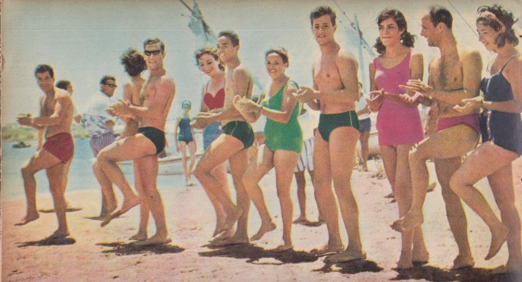 1964 beach egypt