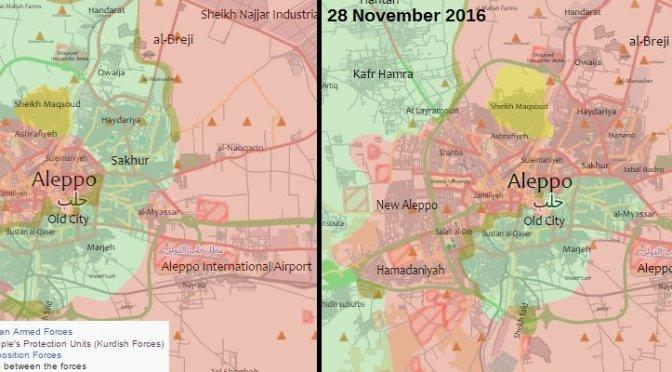 Envoyé Spécial – Alep au coeur de la guerre (At the peak of the Syrian  War in Aleppo)