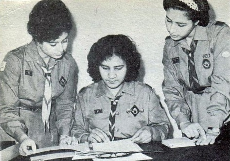 Libyan Girl Scouts 1960