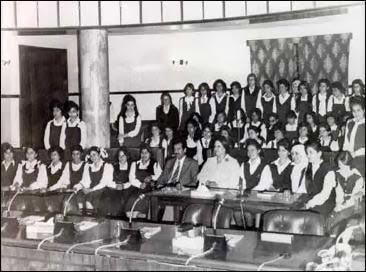 saddam school girls 1970