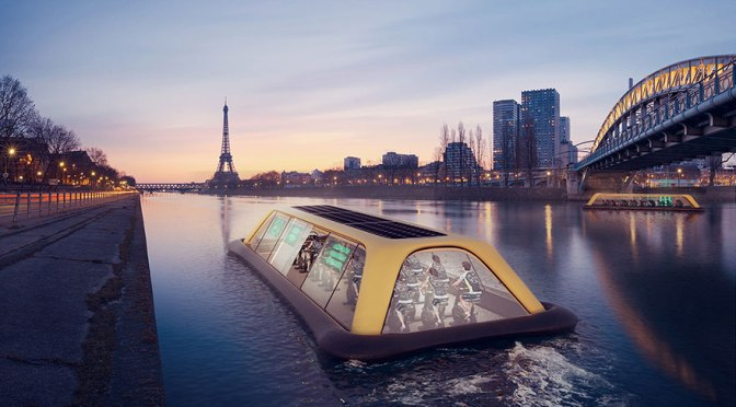 Energy #Startup:This Paris Floating Gym Which Will Turn Your Sweat Into Electricity (en/fr)