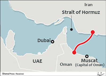 Iran & Oman common gas export pipeline project will now change route in order to avoid UAE's waters