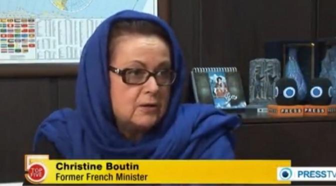 France: Christine Boutin et ses dérapages