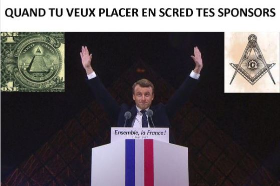 The curious case of Emmanuel Macron's victory and the end of our time #illuminati  #antichrist