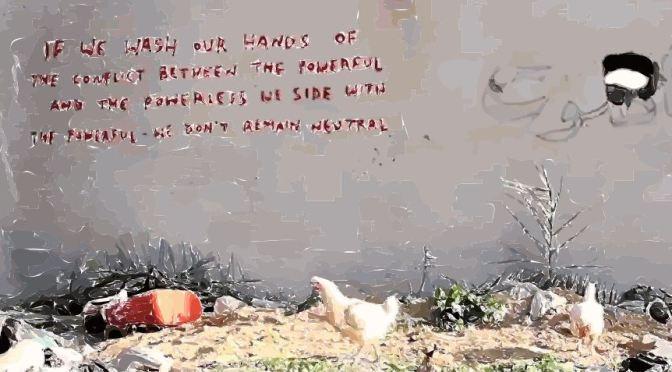 Palestine sous les Yeux de Banksy// Palestine through the Eyes of Banksy (En/Fr post)