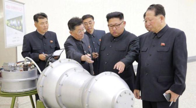 Lors du dernier test nucléaire,  la Corée du Nord a annoncé avoir procédé avec succès au test d'une bombe à hydrogène.