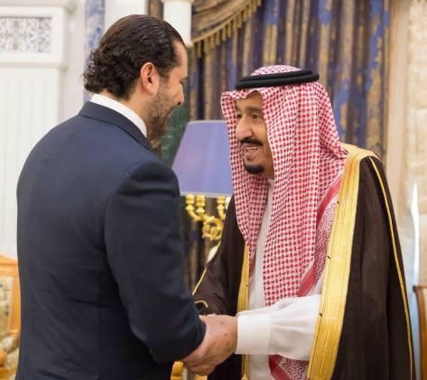 king salman saudi arabia hariri lebanon