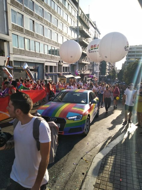 Gay pride athens 2018