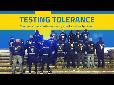 """Watch """"Testing Tolerance: Swedes are saying 'enough', to immigrants, no-go  zones, sharia law & gang rapes"""" on YouTube"""